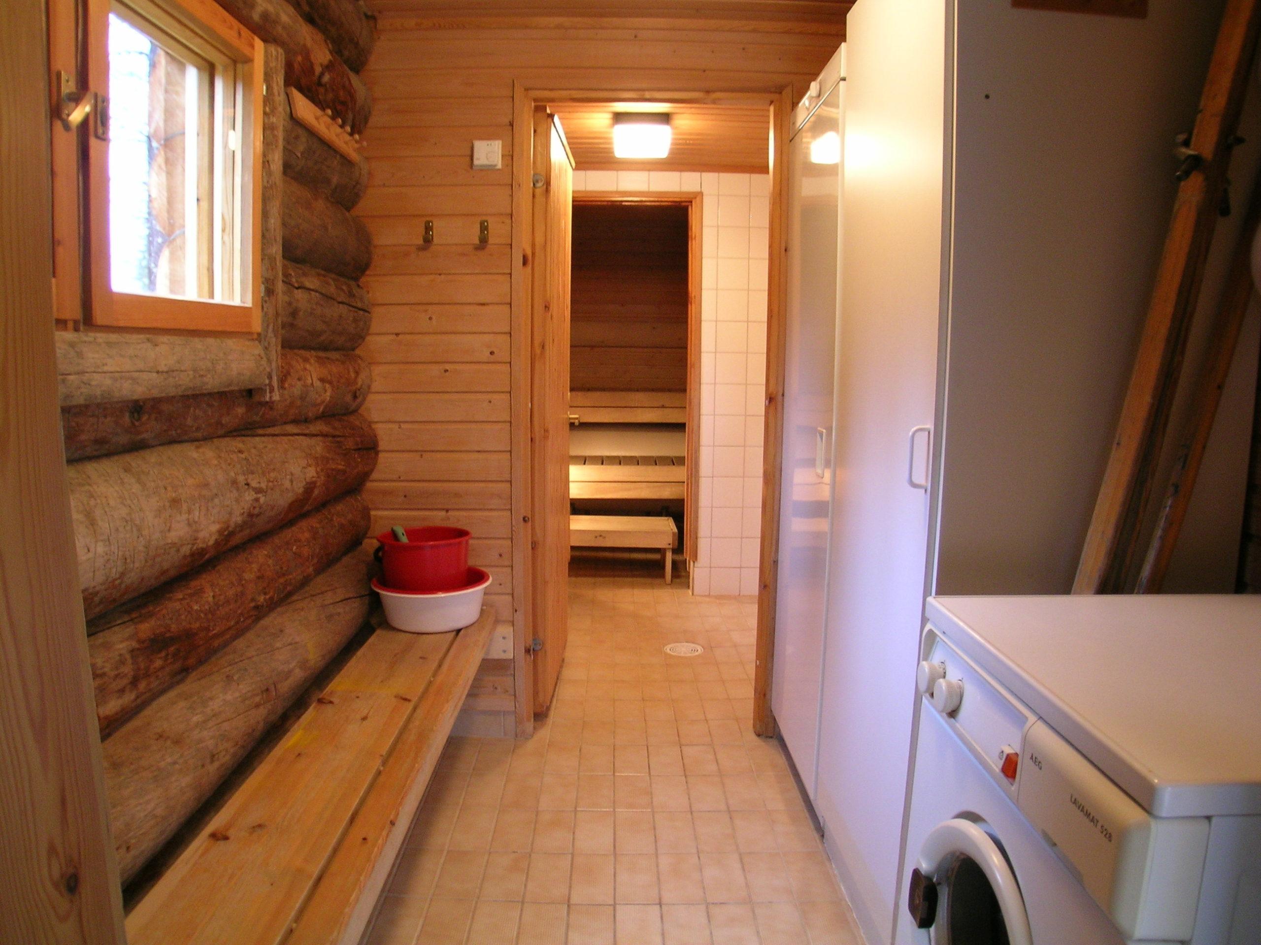 Satu 31 sauna ja pesuhuone